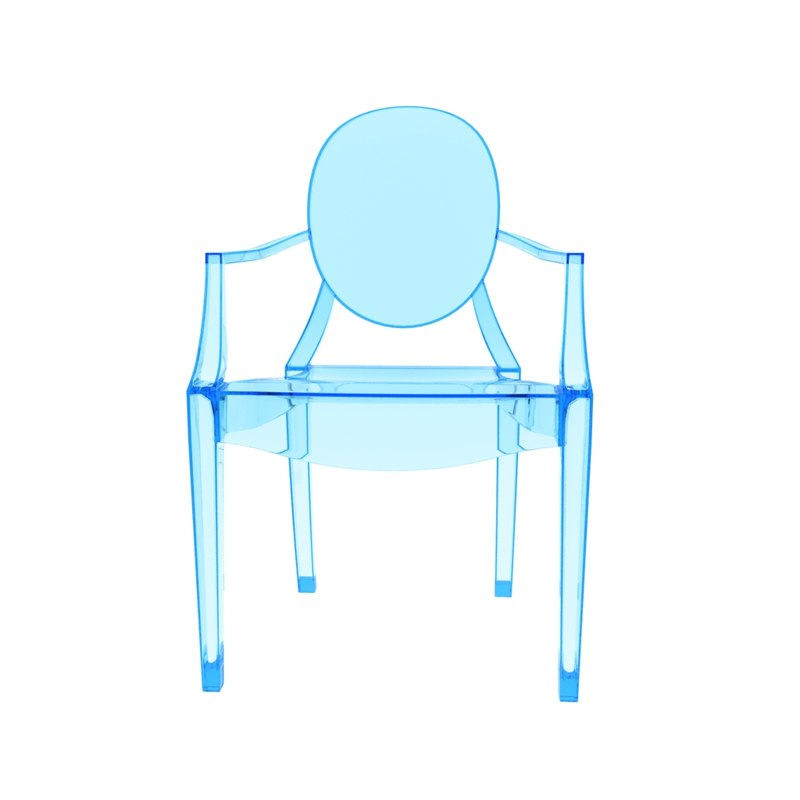 3D kartell louis ghost chair model - TurboSquid 1215581