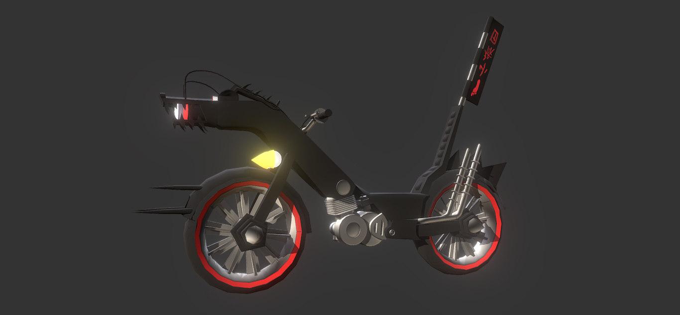 chopper bike model