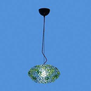 3D kartell bloom lamp