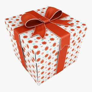 3D gift box 2 color