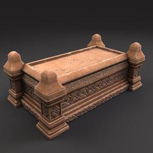 sarcophagus 3D