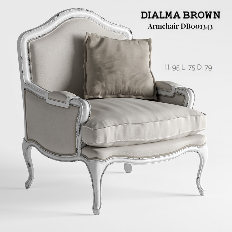 dialma brown - armchair model