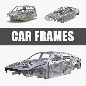 3D car frames s