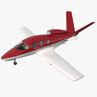 3D cirrus vision sf50 light model