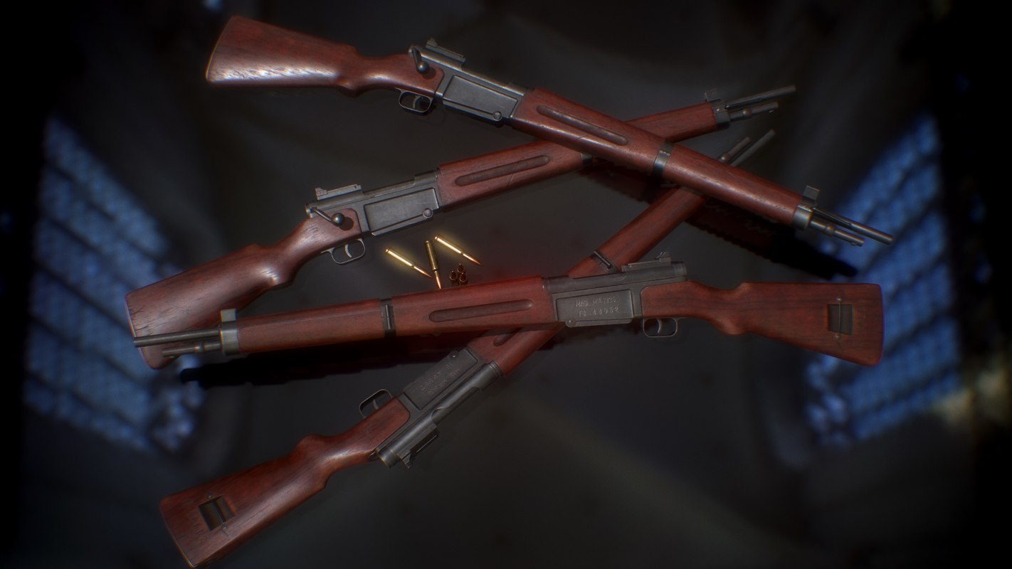 3D mas 36 rifle model
