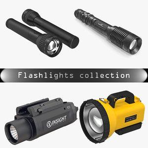 3D flashlights 2 light