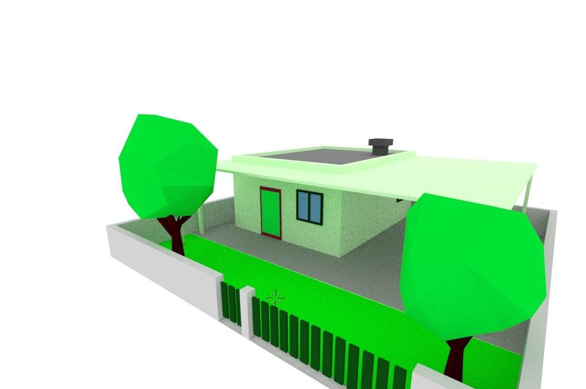 zone density residential house model