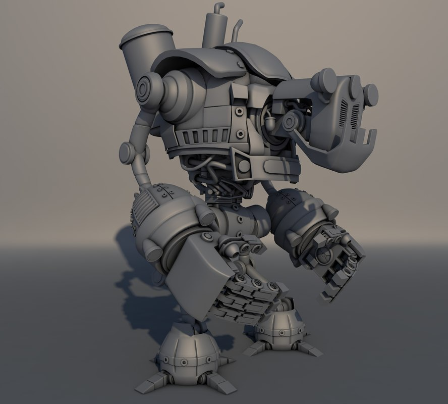3D robot tacter