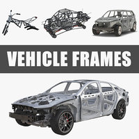 vehicle frames 3D model