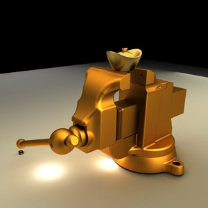 chinese yuanbao swivel 3D model