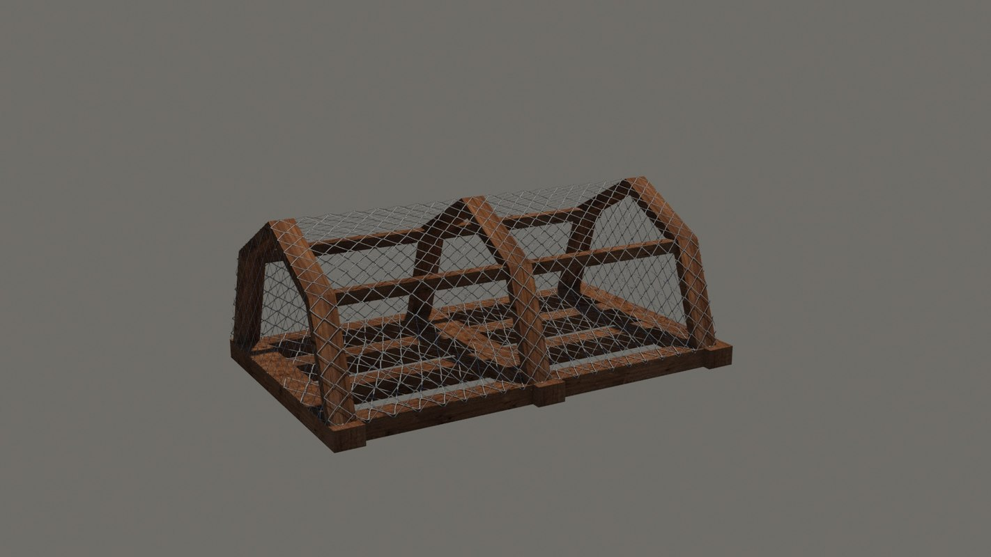 3D lobster crab pot