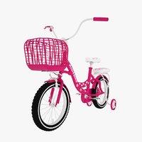 3D bike kids model