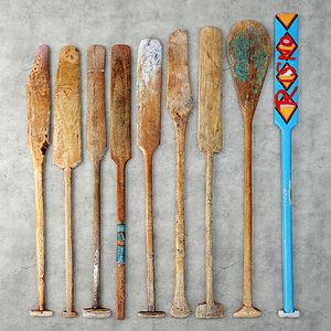 oars lodka 3D