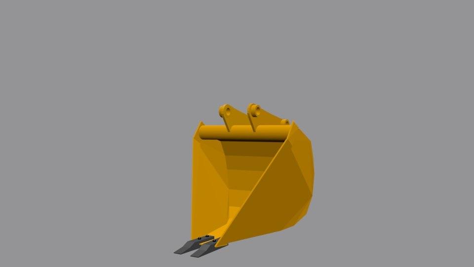 concha maquinas 3D model