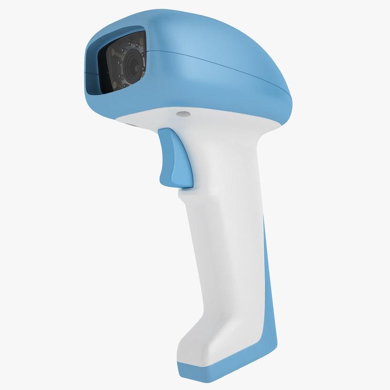 barcode scanner as9500 3D