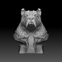 bulldog ztl 3D model