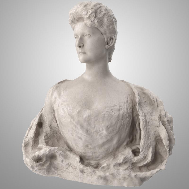 alexandra fedorovna tsarina 3D model