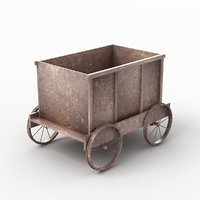 3D tub trolley 2 model