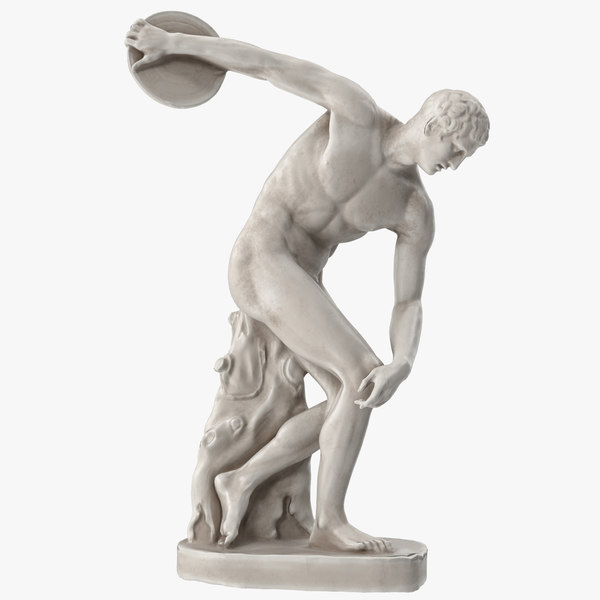 3D townley discobolus model