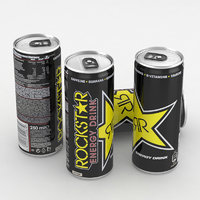 beverage drink energy model