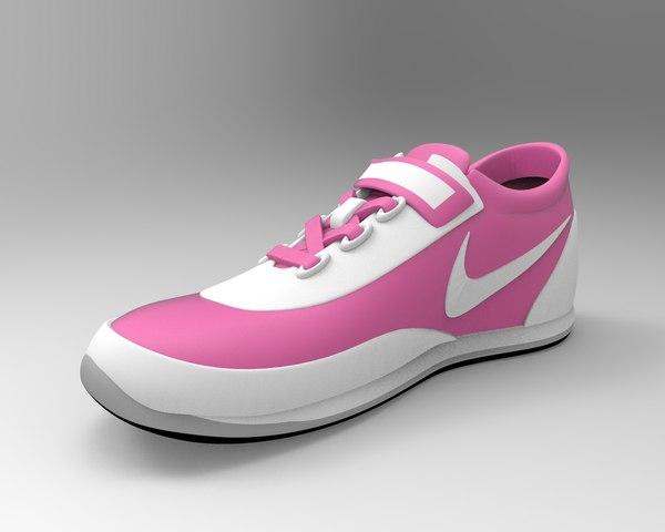 3D nike shoes