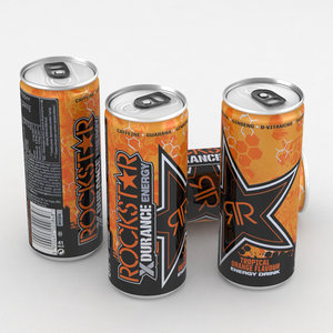 beverage drink energy 3D