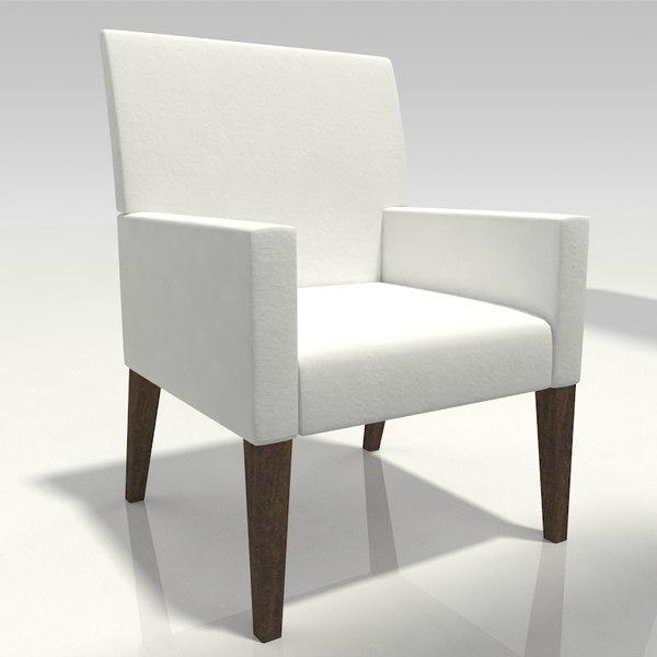 cloth chair model