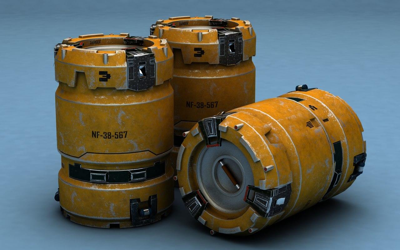 barrel sci-fi sci fi model