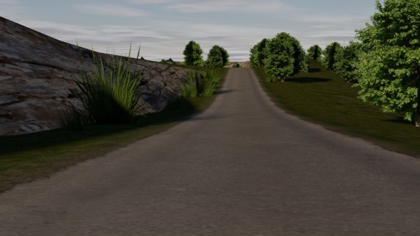 3D model road games