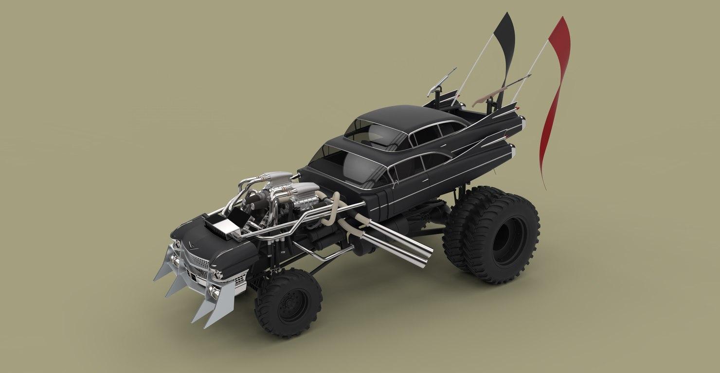 gigahorse mad fury road 3D model