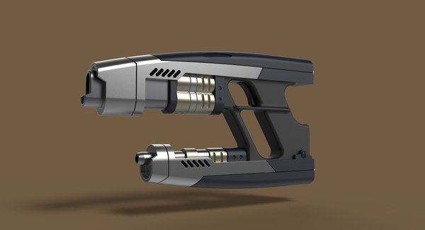 3D blaster weapons
