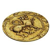3D indian coin