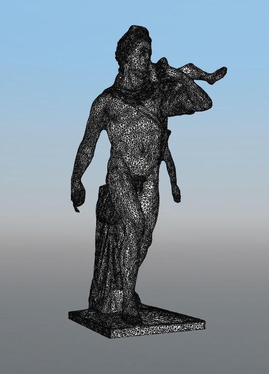 roman statue model