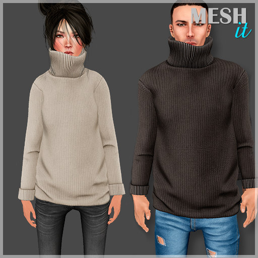 3D male female tn