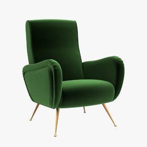 3D chair julian chichester - model