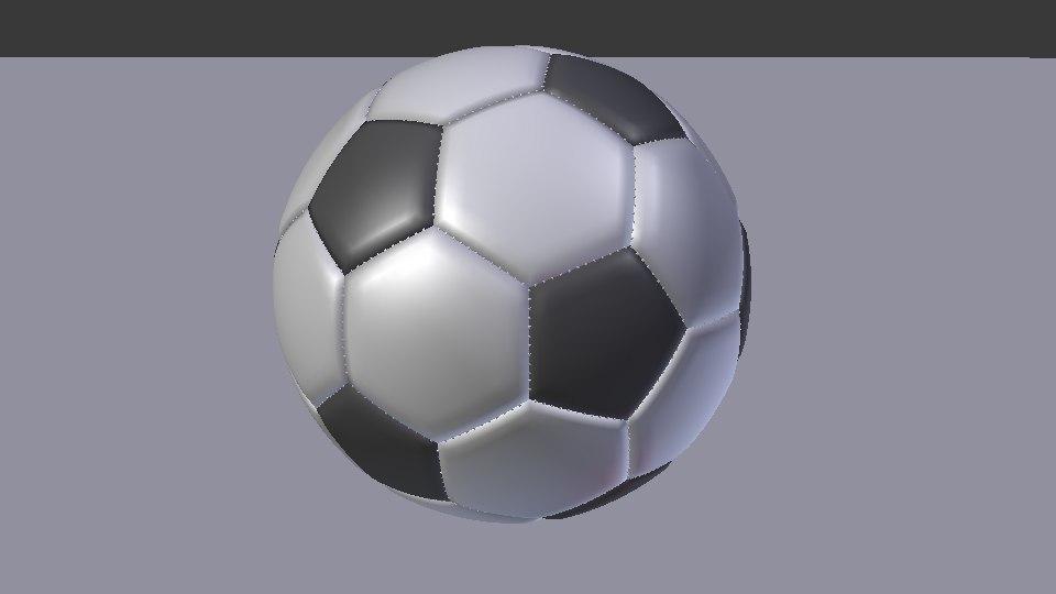 soccer ball 3D