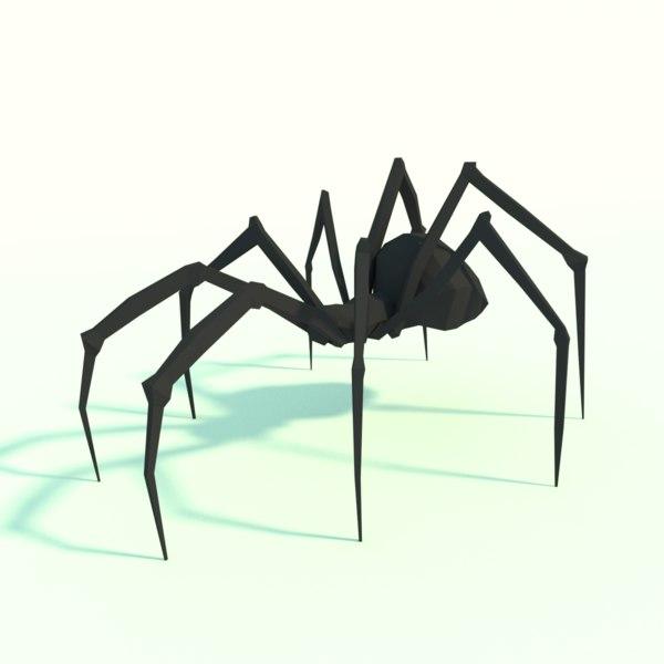 spider design 3D model
