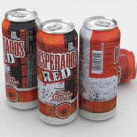 beer desperados 3D