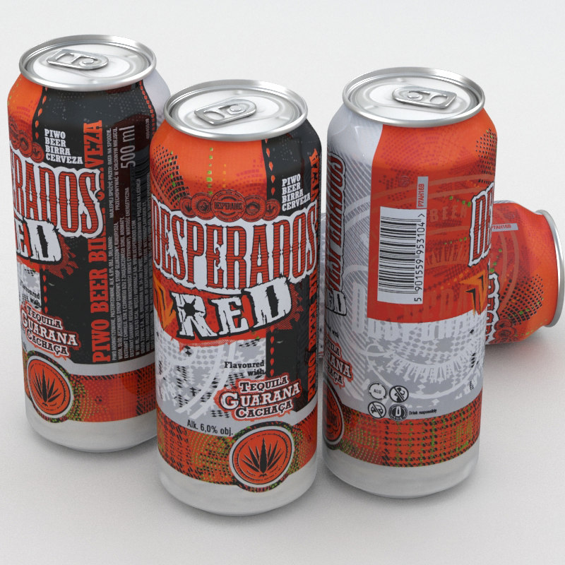beer desperados 3D