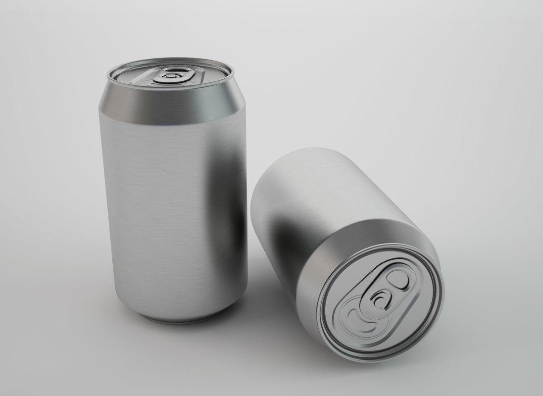 3D aluminium model