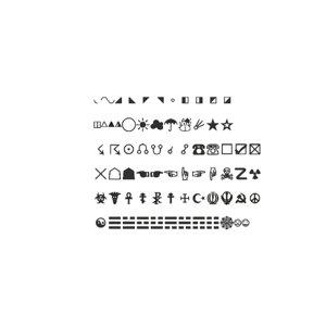 symbols set21 cg cad 3D model