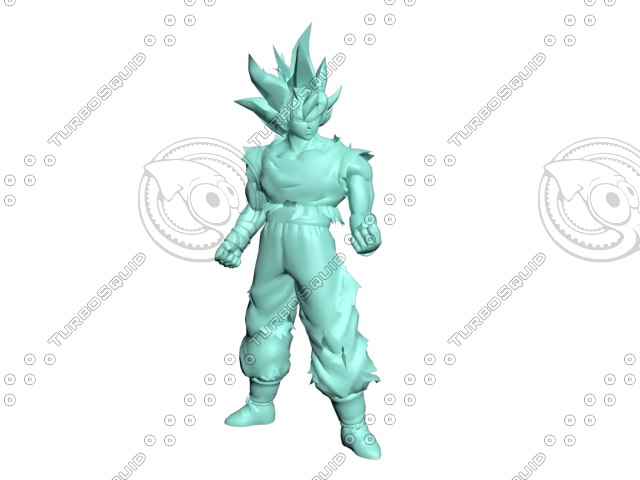 goku ultra instinct model