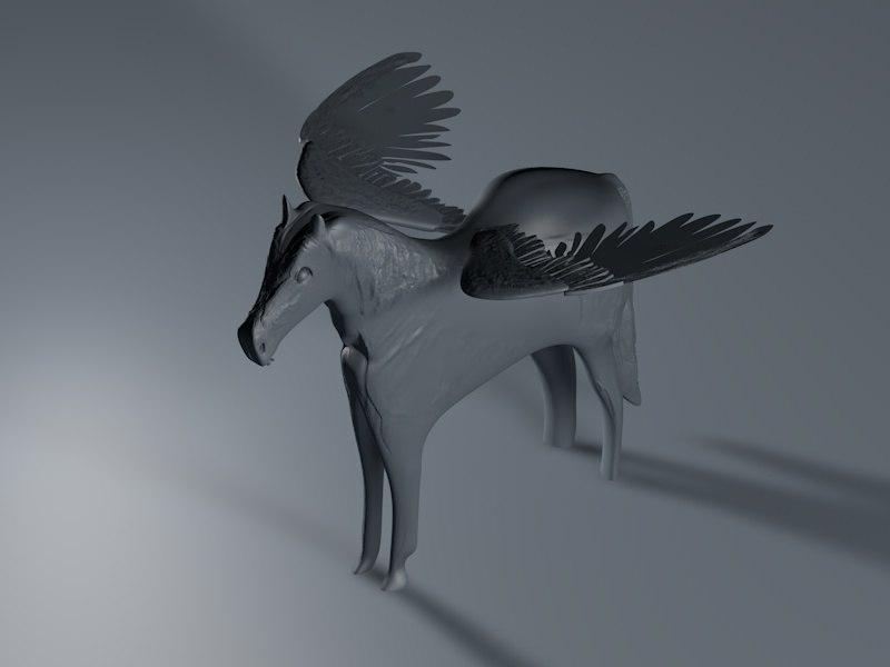 greek mythology 3D model