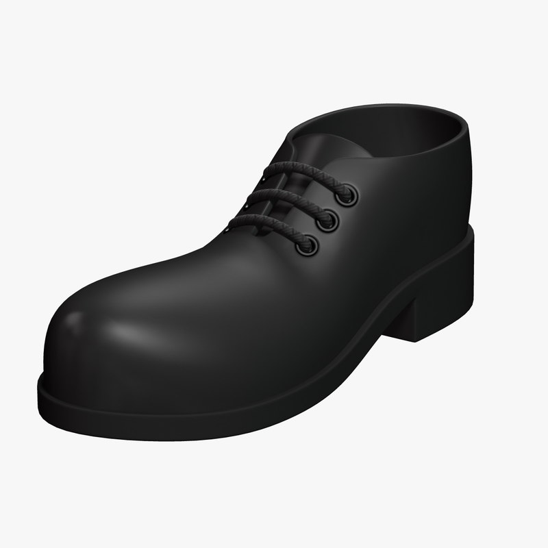3D cartoon shoe model