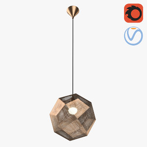 geo sphere lattice loft model