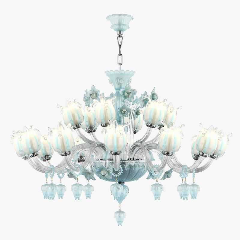 chandelier md 89298-12 6 3D model