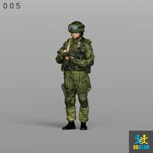 3D scan male model