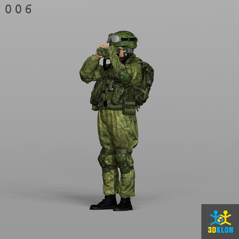 3D scan male