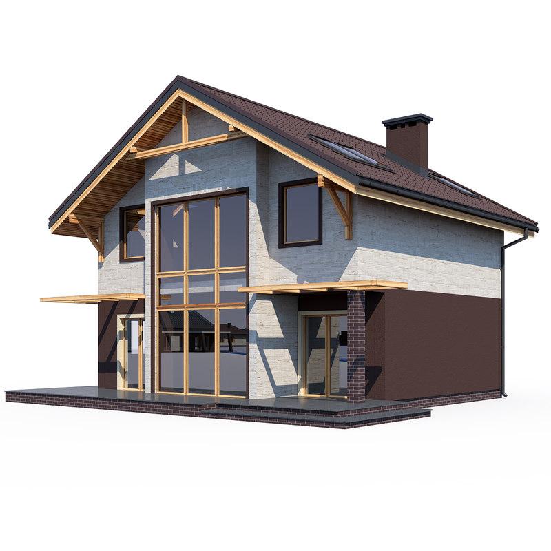 3D model project house
