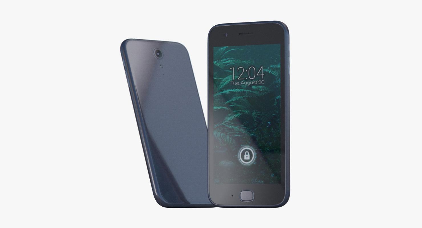 generic mobile phone 3D model